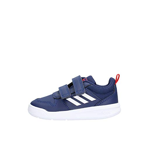 Adidas Tensaur I, Zapatillas de Estar por casa, Multicolor (Azuosc/Ftwbla/Rojact 000), 23 EU