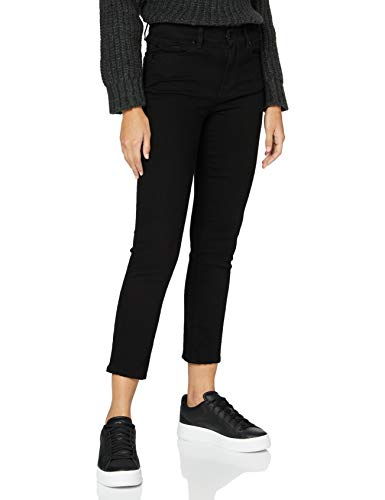 7 For All Mankind Womens Slim Jeans, Black, 32