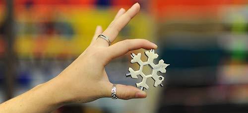 Multi-tool Standard Metric Snowflake, Stainless Steel
