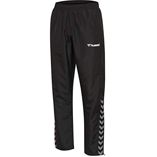 hummel Herren hmlAUTHENTIC Micro Pant, Black/White, XL
