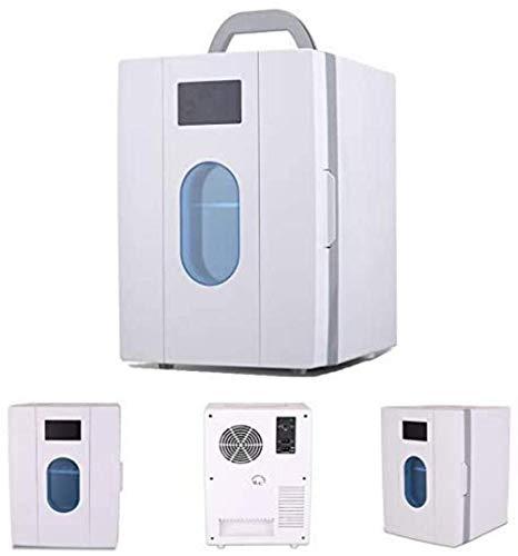 Mini nevera 10L refrigerador pequeño coche, casa de coches de doble uso, regalos, Estudiante compartida Mini nevera, Calefacción Refrigeración Termostato Box 1yess