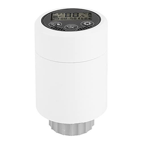 Meiyya Heating Temperature Controller, HY366 Multifunctional Radiator Valve for Residences Shopping Malls Hotels for Central Air-conditioning Temperature Control