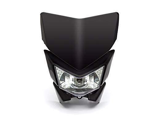 Moto Phare - Streetfighter & Supermoto - Noir - 12V 35W