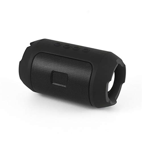 Equipo de sonido Lyl Tarjeta Mini Bluetooth Al Aire Libre Inalámbrico Computadora móvil Pequeño Subwoofer Audio (Color : Black, Size : A)