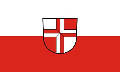 Unbekannt magFlags Tisch-Fahne/Tisch-Flagge: Stetten am kalten Markt 15x25cm inkl. Tisch-Ständer