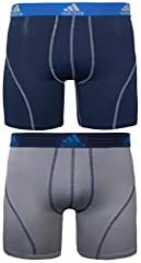 The sport performance 2 pack is what you need if you're looking for all purpose, do anything underwear Super soft, stretchy and quick drying Plush soft tagless waistband and super smooth stitching deliver superior comfort No ride up leg construction ...