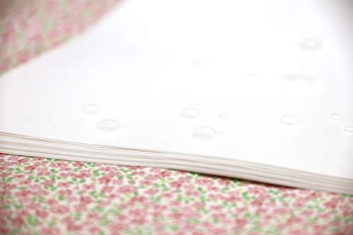 EIALL 剥離紙(40枚) 白 A4 両面剥離タイプ シール帳自作