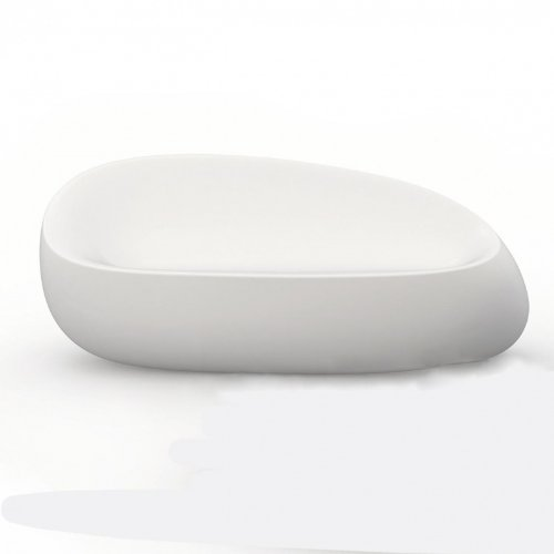 Vondom Stones - Canapé, Blanc Mat