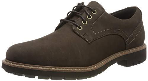 Clarks Batcombe Hall Derby - Zapatos de Cordones  para Hombre, Braun (Dark Brown...