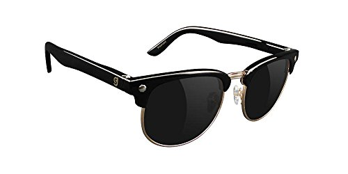 GlassY Herren Sonnenbrille Morrison Black Polarized