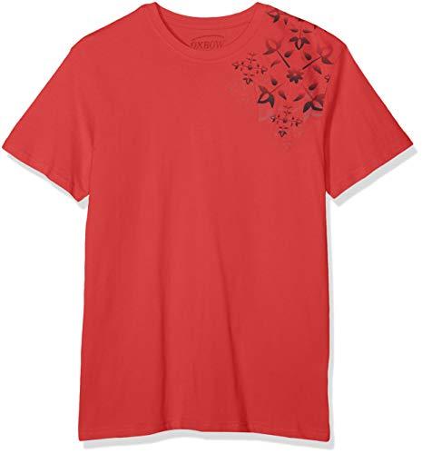 OXBOW Herren TESKA T-Shirt, Rouge Lavé, L