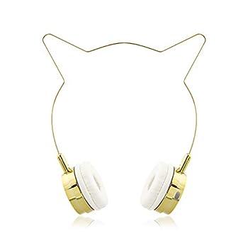Best gold cat ear headphones Reviews