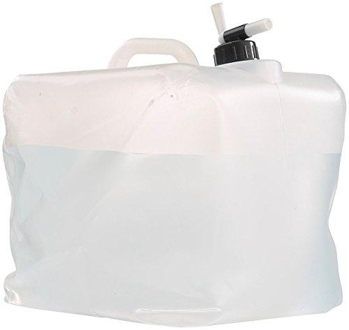 Semptec Urban Survival Technology Kanister faltbar: Faltbarer Wasserkanister mit Zapfhahn, 20 Liter, ideal für Trinkwasser (Camping-Wasserkanister faltbar)