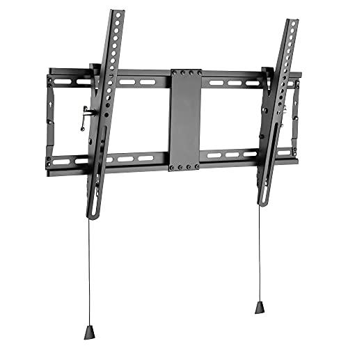 RICOO N7064 Soporte TV Pared 37-80' Pulgadas (94-203cm) Colgador inclinable Fijo Enganche televisión Plano Universal VESA 300x200-600x400 Negro