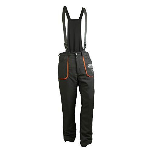Oregon 295445/L Pantalones de Protección para motosierra, Tipo A, Poliéster, Talla L, Color Gris Carbón