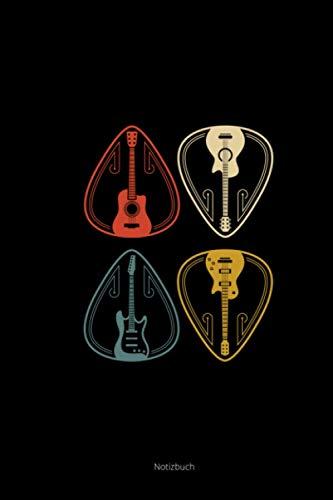Notizbuch: Kalender 2021 a5 Vintage Retro Gitarren Geschenke Gitarristen Gitarrenspieler