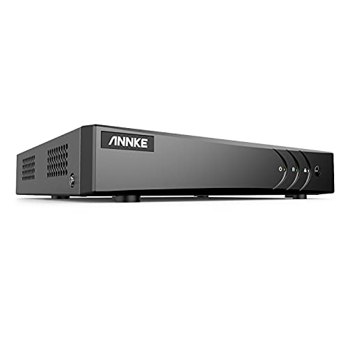 ANNKE 5MP Lite H.265+ Surveillance DVR Recorder, 8CH Hybrid 5-in-1 CCTV DVR for Security Camera, Supports 8CH Analog and 2CH IP Cameras, Easy Remote Access, Motion Detection(No Hard Drive)