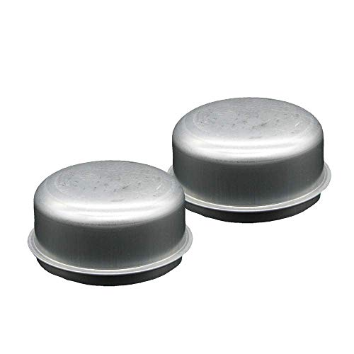 M-Parts 2.5  (2-1 2 ) Steel Dust Caps Grease Caps, Outer Diameter: 2.45 , 20-250 (2 Pack)