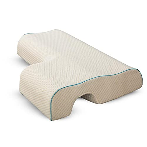 fflmy Almohada de Abrazo de la Almohada de Las Parejas con la Espuma de la Memoria de Rebote Lento para el Descanso del Brazo Almohada de la Mano-Left Arm (Style 1)