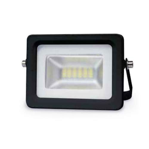 GSC Projecteur LED 10W 3000K IP65 Noir 0704723