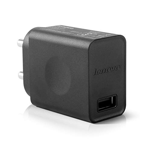 Lenovo Mobile Adapter 5Volts 2Amp USB Fast Wall Charger 10W with 1M Micro-USB Cable (888016712)