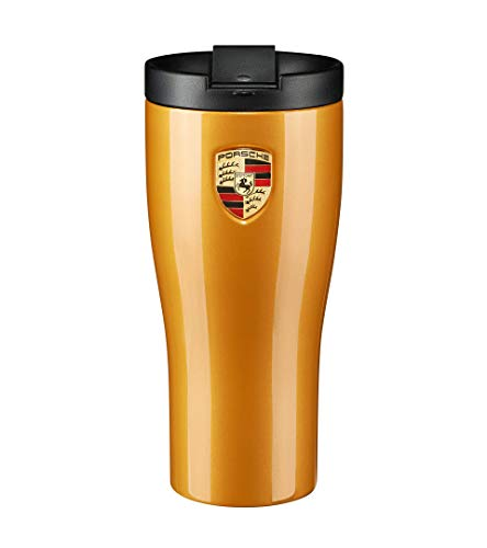 Thermobecher Isolierbecher original Porsche Design Diverse Farben (goldgelbmetallic)