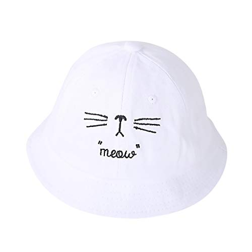 Shirt Luv Fashion Children Pure Color Big Edge Sunscreen Fisherman Hat Cap Woman Girls Clothing Accessories