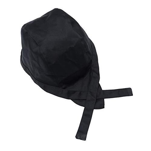 Healifty Chefkochmütze für den Kochkopf, ideal für Kochmütze (Schwarz)