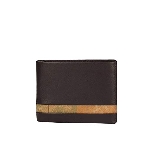 PORTAFOGLIO ALVIERO MARTINI GEO CLASSIC MAN WALLET+COIN BVW1505600 DARK BROWN