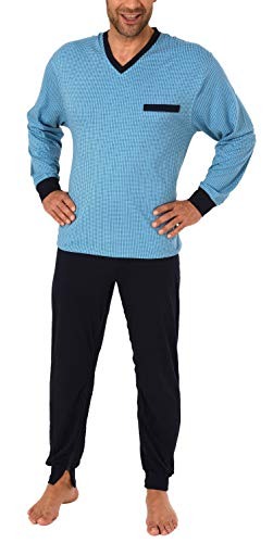 Normann Care Herren Pflegeoverall Langarm mit Reissverschluss an Hose + Rücken 181 170 90 418 Rücken 57687, Farbe:hellblau, Größe2:L