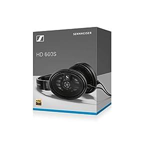Sennheiser HD 660 S - Hires Audiophile Open Back Headphone (Latest Version 2019)