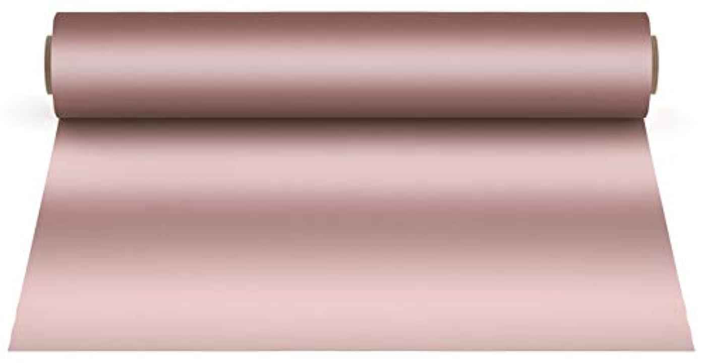Firefly Craft Elastic Foil Rose Gold Heat Transfer Vinyl | Metallic HTV Vinyl | Iron On Vinyl for Cricut and Silhouette | Mirror Style Heat Press Vinyl for Shirts - 12