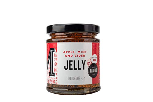Manfood Apple, Cider and Mint Jelly, 0.19 kg