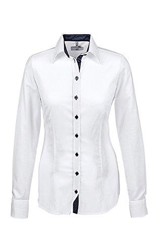 GREIFF Damen-Bluse Modern with 37,5 Slim Fit, 65191, Grösse 32