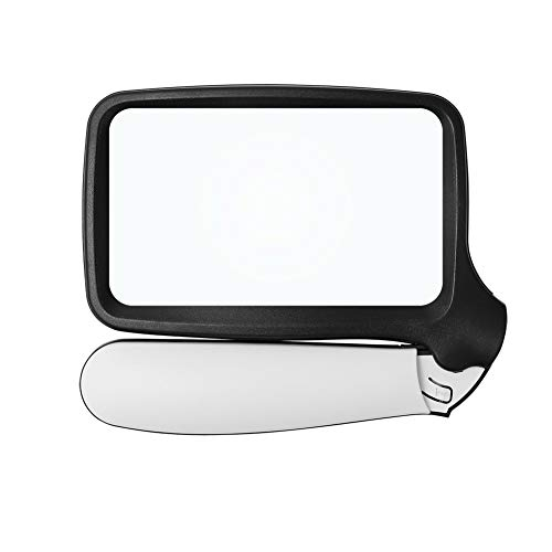 拡大鏡 ルーペ 虫眼鏡 携帯ルーペ ルーペ手持ち LEDライト付き 折りたたみ式 軽い 倍率 2X倍 レンズ 布付き ポケットタイプルーペ 見やすい オシャレ 仕事 新聞 読書
