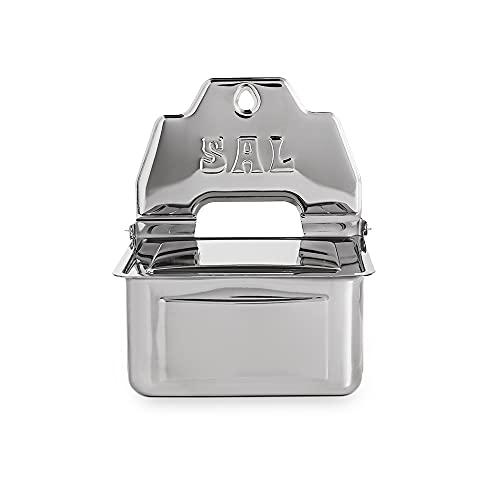 Saleiro De Parede 660g Suprema Brinox Aço Inox
