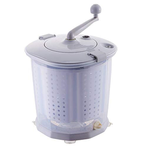 AIYE Lavadora y Secadora a Mano con manivela Manual, no eléctrica, Lavadora...