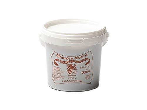 Feigen Senf - Monschauer Senf - Moutarde de Montjoie - Feigensenf- 500 ml im Nachfülleimer