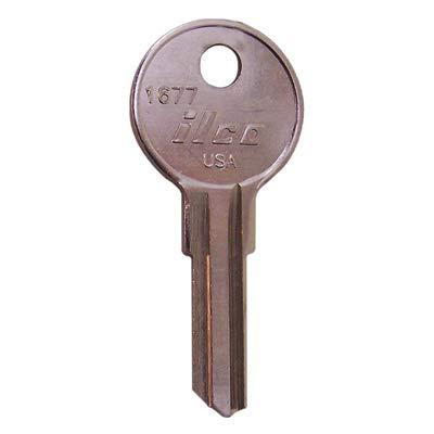 Kaba Ilco 1677 1677 E-Z-Go Key Blank - Quantity 10