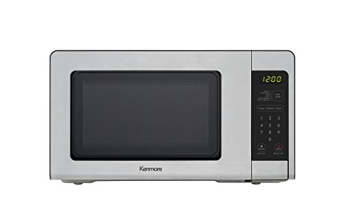 Kenmore 70713 Countertop Microwave, 0.7 cu. ft, Stainless Steel