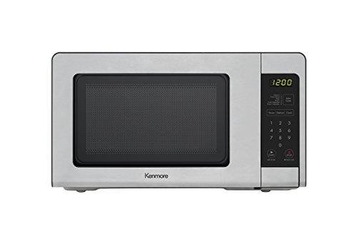 Kenmore 70713 Countertop Microwave, 0.7 cu. ft, Stainless Steel