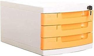 XBSXP Classeur/étagère, Armoire de Rangement à tiroirs Fournitures de Bureau Design à Tirette Confortable Porte-journaux r...