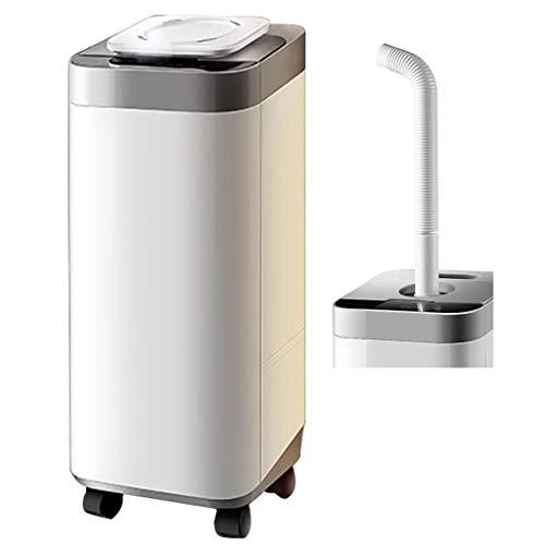 Luftbefeuchter Zwei Methoden zum Vernebeln 20 Liter Intelligenter mit großem Fassungsvermögen, industrieller Haushalt, weiß, stehend