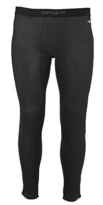 Carhartt Men's Size Base Force Lightweight Bottom, Black, XX-Large Tall