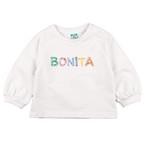Top Top JOYAL Sudadera, Blanco, 3-6 para Bebés