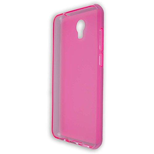 caseroxx TPU-Hülle für Archos Core 50P, Handy Hülle Tasche (TPU-Hülle in pink)