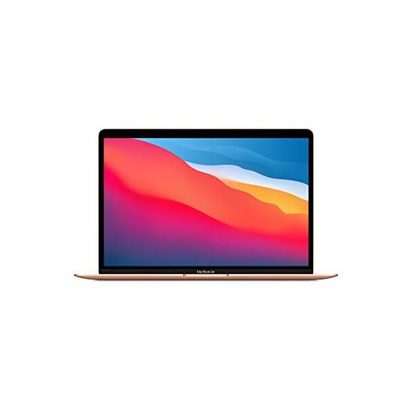 Apple MacBook Air avec Apple M1 Chip (13Pouces, 8Go RAM, 512Go SSD) – Or (Novembre 2020)