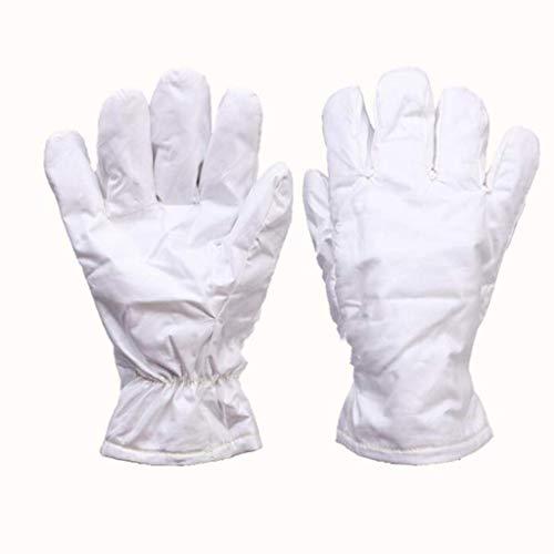 ZFZ Hochtemperaturbeständige Handschuhe 180 °, wärme- und verschleißfeste Aramid Labor Reinraum, 26cm / 40cm (Größe, 26cm),26cm