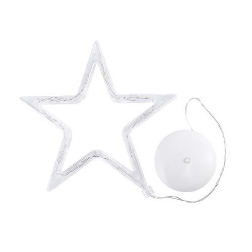 Minkissy - Luces de Navidad para colgar con ventosa, 8 LED, con...
