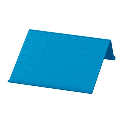 IKEA Isberget Tablet Stand Blue Size 9 7/8x9 7/8' 003.263.34